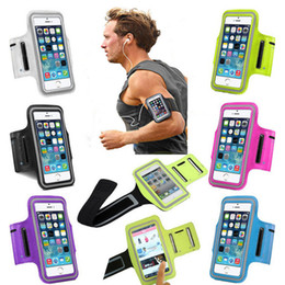 armband sports bag case pouch Canada - For iphone X XS MAX 11 Pro Max 7 8 Sport Running Armband Case Workout Holder Pouch Waterproof phone Bag Cover ForSamsung S10 plus Note10