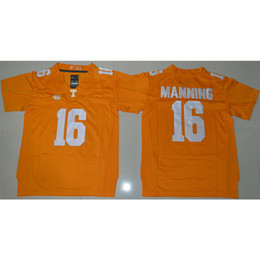 2242650cf Mens Tennessee Volunteers Peyton Manning Stitched Name Number American  College Football Jersey Size S-3XL