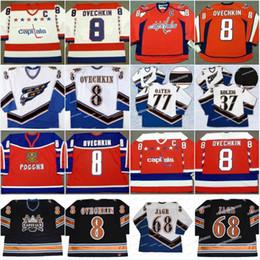 Jagr Jerseys online shopping - 8 Alexander Ovechkin Jaromir Jagr Team Russia Washington Capitals Kolzig Oates Ovechkin Cheap Hockey Jerseys