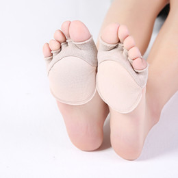3 Pairs Ren Style Invisible Lace Sponge Absorbent Insole Forefoot Pad High-heeled Shoe Sandals Cushion Foot Pain Insert Insoles