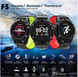 $enCountryForm.capitalKeyWord Australia - 2018 Sports Smart Watch F5 GPS Heart Rate Monitor IP67 Waterproof Wrist Smartwatch Band Bluetooth Fitness Tracker Android iO-S