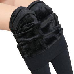 981dbd708d5 Hot 2018 New Fashion Women s Velvet Leggings Autumn Winter High Elasticity  Good Quality Thick Pants Warm Leggings