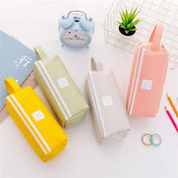japan stationery wholesalers NZ - Multifunction Makeup Bag Double Layer Large Capacity Travel Storage Bag Organizer Handbag Pencil Cases Stationery School Supplies