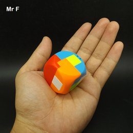 Gadget Fun Australia - Fun Gift Mini Puzzle Ball Colorful Plastic Kong Ming Lock Model Toy Gadget Intelligence Game Toys