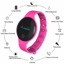 healthy watches UK - Bluetooth Women Fitness Sports Record Monitoring Smart Band Smart Wrist Band IP66 Healthy Sleep Monitoring Watch for IOS Android Y18102310