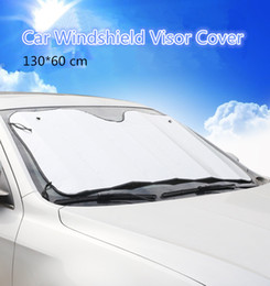 $enCountryForm.capitalKeyWord Canada - Auto car-styling car styling Casual Foldable Car Windshield Visor Cover Front Rear Block Window Sun Shade mar07 car sunshade