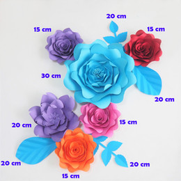 Giant paper flowers wholesale australia new featured giant paper giant paper flowers wholesale australia diy giant paper flowers fleurs artificielles backdrop artificial rose 6pcs mightylinksfo