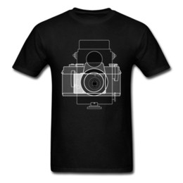 Discount neck camera - age of camera Pure Cotton Tees for Men Crazy Top T-shirts Printed New Arrival Crewneck Tee Shirts Short Sleeve