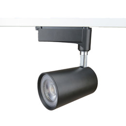 Clothing led track light australia new featured clothing led 2018 hot sale all black europe 2 wires 30w cob led track spot light application on clothes shop aloadofball Gallery