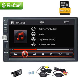 2din kit online shopping - Double din in dash gps navigation din headunit car pc P Video Mirror link USB SD Bluetooth AUX steering wheel control