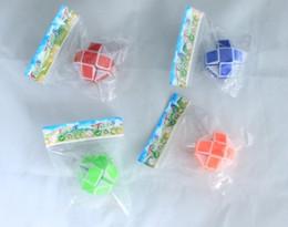 $enCountryForm.capitalKeyWord NZ - Mini Creative Magic Snake Shape Toy Game 3D Cube Puzzle Twist Puzzle Toy Gift Random Intelligence Toys Supertop Gifts free shipping