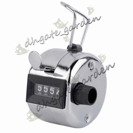 $enCountryForm.capitalKeyWord NZ - Free shipping 480pc lot Metalic 4 Digits Number Clicker Hand Tally Counter for Golf