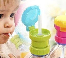 Wholesale high quality Newcomdigi Portable Spill proof Adult children Drink Bottle Spout Cover Drinking Straw Cover Protection Tool