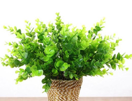 $enCountryForm.capitalKeyWord UK - Summer Party 7 Branch Plastic Wedding Home Furniture Decoration Garden Artificial Plants Fake Milan Grass Foliage Plant Tree Free Shipping