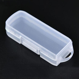 plastic disks 2019 - Mini Plastic Small Box Jewelry Earplugs Storage Box Case Container Bead U Disk Organizer Gift Box With Hook QW8900 cheap