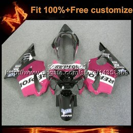 Pink Honda Repsol Cbr NZ - 23colors+8Gifts Injection mold repsol pink motorcycle cowl For Honda 00 CBR600F4 1999-2000 F4 99 00 CBR 600 ABS Plastic Fairing