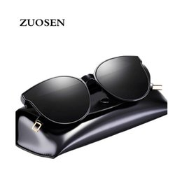 00b284e4410 ZUOSEN 2018 Best Selling Fashion Sunglasses Vintage Driving Sun Glasses For  women Retro Cheap Luxury Brand Designer Sunglass with case box