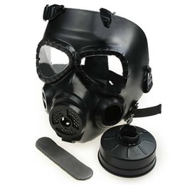 $enCountryForm.capitalKeyWord Canada - Wholesale-1pc M04 Tactical Plastic Masquerade Mask Resin Full Face Gas Halloween Masks With Fan CS Mask Black Army Green 2 Color