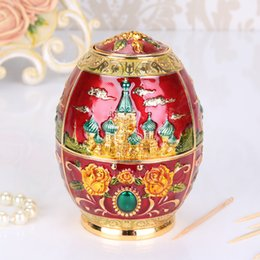 TooThpicks holder online shopping - Creative Household Table Decor Toothpick Box Hand Pressure Automatic Alloy Metal Toothpicks Holder Fashion Portable Retro Seat mn jj