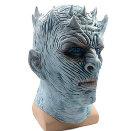 $enCountryForm.capitalKeyWord Canada - Game Of Thrones Halloween Mask Night's King Walker Face NIGHT RE Zombie Latex Mask Adults Cosplay Throne Costume Party Mask