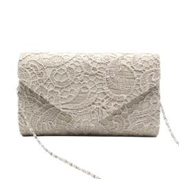 Ladies Lace Handbags Canada - 2018 Sexy Women Lace Clutch Bag High Class Wedding Party Night Club Design Evening Bag Charming Female Ladies Handbag