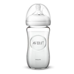 Wholesale SCF673 AVENT ml oz spiral pattern nipple wide mouth caliber feeding bottle Infant baby Milk Bottle
