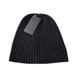 Brand Designer Beanie Woolen Elastic Cap Knitted Autumn Winter Warm Men  Women Skull Chunky Women Hip Hop Street Baggy Hat Fashion 10ds bb d333aa0eb4d