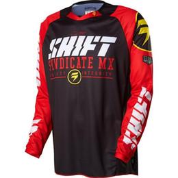 Xxxl Dh Canada - 2017 shift Cycling men's long sleeve shirt mountain bike motocross mx cycling dh downhill jersey cycling clothing bicycle shirt 002