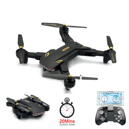Helicopters Toys Camera Australia - Super Long Fly Time XS809S Foldable Selfie Drone 2MP Wide Angle Camera Wifi FPV Mini Drones XS809HW Upgraded RC Quadcopter Helicopter Toys