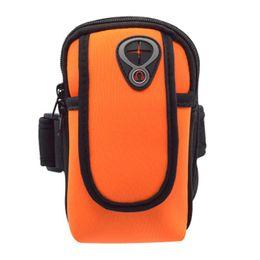 Ao Ar Livre bolsa bolsa braços operação aparelho braço exercício cinto braço running impermeável apropriado para todos os sacos de braço em Promoção