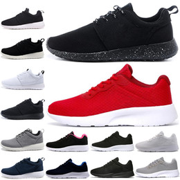 Hot cuts online shopping - Hot sale Tanjun Run Running Shoes men women black low Lightweight Breathable London Olympic Sports Sneakers mens Trainers size