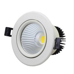 Ceiling Lights & Fans Silver Dimmable Led Downlight Lamp 7w 9w 12w 18w 24w Cob Led Spot Ac110v-220v Ceiling Recessed Downlights Square Led Panel Light Wide Selection;