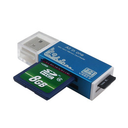 Pro duo cards online shopping - 4 Color in Card Reader for Memory Stick Pro Duo Micro SD TF M2 MMC SDHC MS Silier Colors High Quality