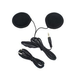 China vanpower headphone HiFi sport Headset MP3 CD Radio Earphone Speaker for Motorcycle Helmet for phone cheap radio motorcycle helmets suppliers