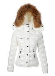 Womens Parkas Australia - Classic Brand Women Winter Warm Down Jacket With Fur collar Feather Dress Jackets Womens Outdoor Down Coat Woman Fashion Jacket Parkas