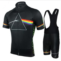 Wholesale 2018 Pink Floyd Cycling Set Uomo MTB Shirt Breathable Bike Abbigliamento Kit Quick Dry Sport Top Maglie ciclismo XS-5XL