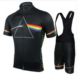 Venta al por mayor de 2018 Pink Floyd Cycling Sets Men MTB Camisas Kits de ropa de bicicleta transpirable Quick Dry Sport Tops Jerseys de ciclismo XS-5XL