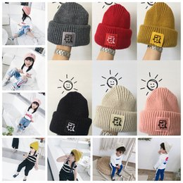 af6c73323fdf0 Boys Girls Beanies Hats Winter Knitted Cap Dinosaur Designer Kids Hats Warm  Chidlren Acrylic Knitted Caps Xmas Gifts 6Colors 120pcs AAA1069