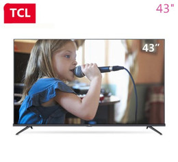 TCL 43-inch AI intelligent star flat panel TV whole ecology HDR ultra hd 4K TV Q picture engine hot new product free shipping...