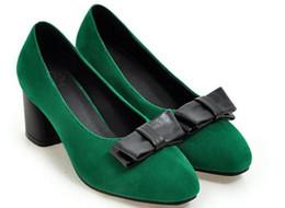 $enCountryForm.capitalKeyWord NZ - Free send 2018 spring new style fashion Korean square head Coarse heel Shallow mouth women's shoes