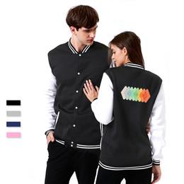 Cool Sweatshirt Jackets Australia - SMZY CHROMAESTHESIA Baseball Jacket Hoodies Cool Autumn Tag-free Popular Sweatshirts Men Vogue Casual Soft Cropped Hoodie Jacket