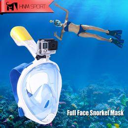 $enCountryForm.capitalKeyWord Australia - 2017 New Scuba GoPro Camera Snorkel Mask Underwater Anti Fog Full Face Snorkeling Diving Mask with Anti-skid Ring Snorkel