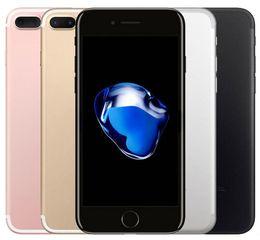 Опт Оригинальный Apple iphone 7 7 Plus с отпечатками пальцев 32 ГБ / 128 ГБ IOS10 Quad Core 12.0MP Восстановленное телефон