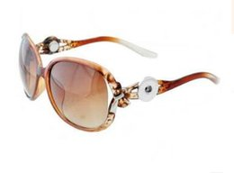 Snap button SunglaSSeS online shopping - hot sale noosa snap button sunglasses fit mm charm can change different charm nice awesome fashion sunglasses color for choose
