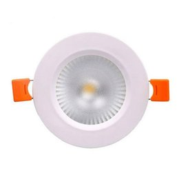 remote control bed UK - Super Bright Recessed LED COB Downlight Dimmable 9W 12W LED Spot light LED Ceiling Lamp AC 110V 220V