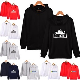 Fortnite Zipper Hoodies Sweatshirt 10 Designs Big Kids Student Fortnite  Print Hoodies Big Kids Mens Womens Outwear Clothing LA835 4bdcacdcc9