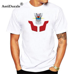 d31630c0b Antidazzle Anime Mazinger Z Tee Shirt Homme Cotton Jersey Clothing Fitness  Hip Hop T-Shirt Male O-Neck Short Sleeve Man TShirt