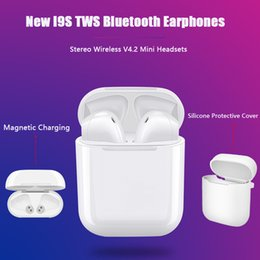 IFANS Mini i9s Gemelos Auriculares Mini Auriculares inalámbricos Bluetooth i7s TWS Air Auriculares Pods Auriculares estéreo para iPhone Android PC