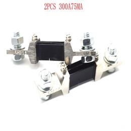 $enCountryForm.capitalKeyWord Australia - 300A75MVDC shunt Ampere Parallel Resistor Amp Panel Meter Ammeter Shunt Current Tester Digital Ampere Panel Meter Current Shunt Resistor