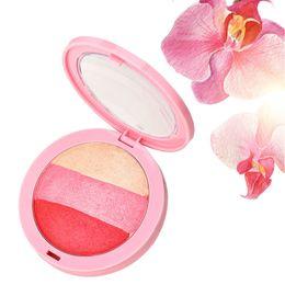 $enCountryForm.capitalKeyWord UK - Natural Blusher Makeup Ice Cream 3 Color Blush Baking Powder Palette Cheek Shadow Beauty Tool well SK88